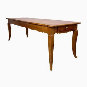 Antique Cherrywood Biedermeier Dining Table