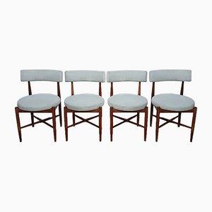 Mid-Century Esszimmerstühle aus Teak von G-Plan, 1960er, 4er Set
