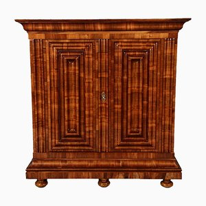 Cross Veneered Walnuet Cabinet, 1700s