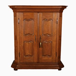 18th Century Baroque Oak Wardrobe