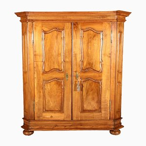 18th Century Rococo Walnut Cabinet
