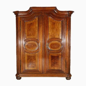 Baroque Louis XVI Walnut Wardrobe, 1780s