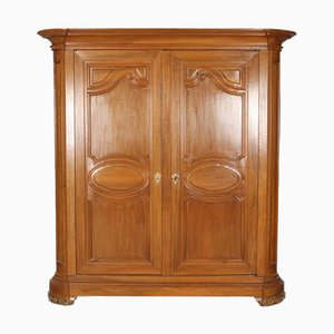 18th Century Baroque Walnut Cabinet