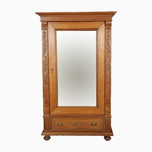 Antique Oak Wardrobe, 1900