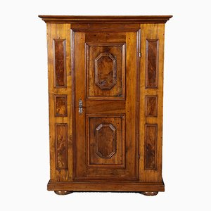 Small Antique Walnut Wardrobe
