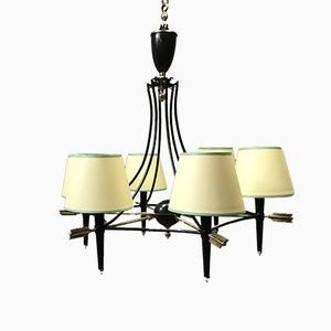 Lámpara de araña antigua de Maison Jansen