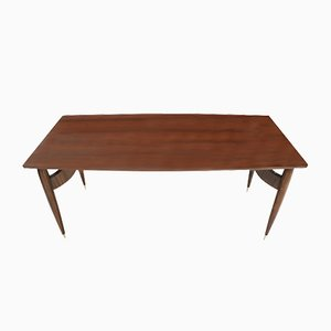 Mid-Century Italian Rosewood Dining Table, 1950s