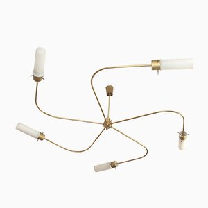 Lámpara de techo italiana vintage, años 60