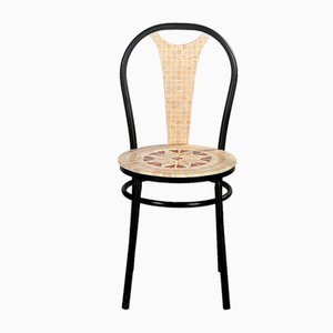 Agata Marble Mosaic Chair from Egram