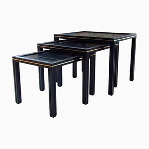 French Nesting Tables by Pierre Vandel, 1970s