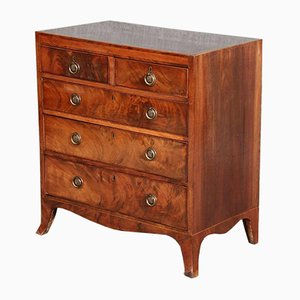 Small English Baroque Chest of Drawers