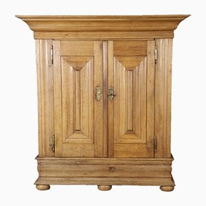 18th-Century German Oak Cabinet
