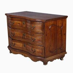 18th Century Baroque Walnut Chest of Drawers