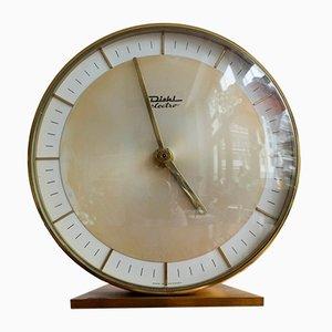 Reloj de mesa alemán vintage de Diehl Electro, años 60