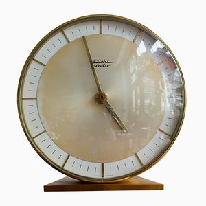 VIntage German Table Clock from Diehl Electro, 1960s
