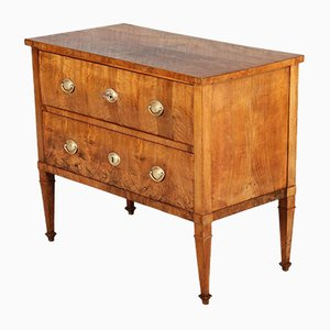 Small Walnut Chest of Drawers, 1800s