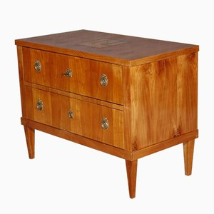 Inlaid Cherry Chest of Drawers, 1800s