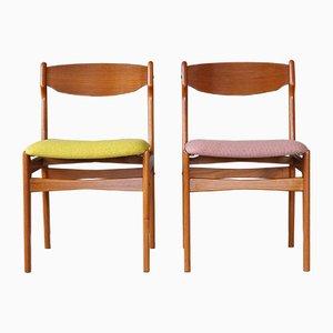Chaises en Teck de Findahls, Danemark, 1960s, Set de 2