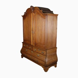 Dutch Baroque Oak Cabinet
