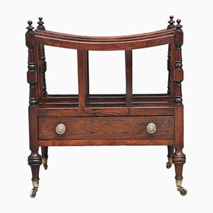 Early 19th Century Rosewood Canterbury, 1820