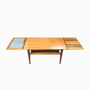 Vintage Danish Metamorphic Coffee Table from Trioh
