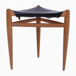 Taburete de Uno & Östen Kristiansson para Luxus, años 50
