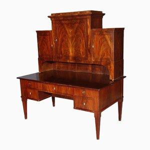 Large Empire Mahogany Desk, 1800s