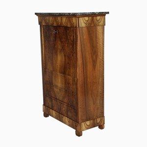 Secretaire piccolo in legno di noce, fine XVIII secolo