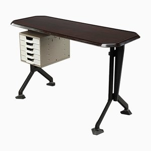 Small Mid-Century Italian Arco Desk by Studio BBPR for Olivetti, 1960s