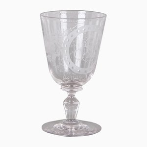 Antique Glass Cup from Holmegaard, 1880s