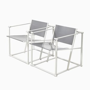 FM60 Cube Chairs by Radboud van Beekum for Pastoe, 1980s, Set of 2