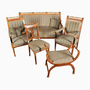 Antique Empire Style Seating Set