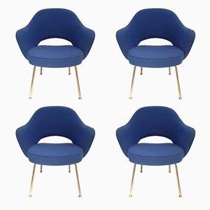 Chaises Vintage par Eero Saarinen pour Knoll, Set de 4