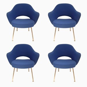 Sillas vintage de Eero Saarinen para Knoll. Juego de 4