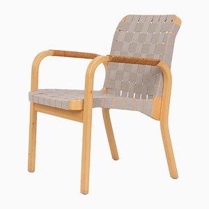 Finnischer Armlehnstuhl aus Buchenholz von Alvar Aalto für Artek, 1960er