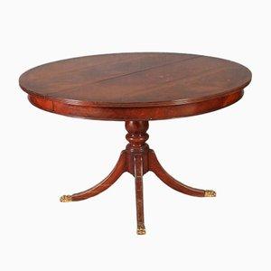 Tavolo rotondo vintage, anni '20