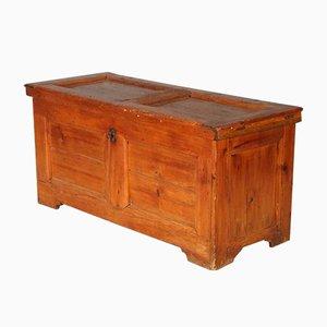 Cassettiera antica barocca in legno di conifera