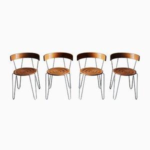 Chaises Vintage de Andersen Møbelfabrik, Set de 4