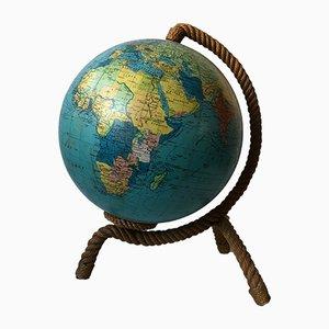 Lampe World Globe par Adrien Audoux & Frida Minet, 1962