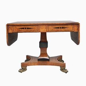 Mesa auxiliar de roble, siglo XIX