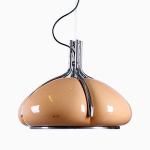 Lámpara colgante Quadrifoglio de Gae Aulenti para Guzzini, años 60