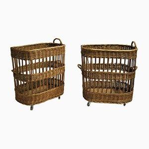Basket on Wheels, 1950s