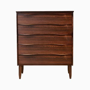 Large Danish Rosewood Chest of Drawers, 1960s
