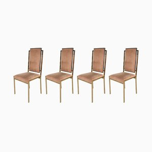Vintage Italian Dining Chairs, 1970s, Set of 4
