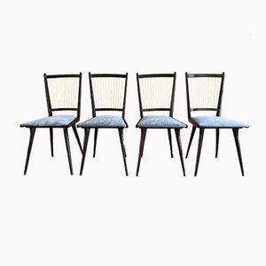 Mid-Century Stühle, 4er Set