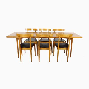 Set with Dining Table & 6 Chairs, 1960s