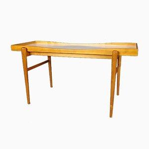 Tavolo vintage floreale, anni '50