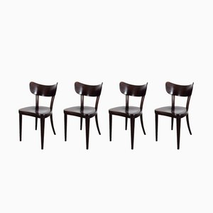 Dining Chairs from Thonet, 1930s, Set of 4