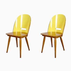 Beistellstühle, 1960er, 2er Set