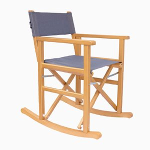 Sedia a dondolo da regista Luce di Swing Design